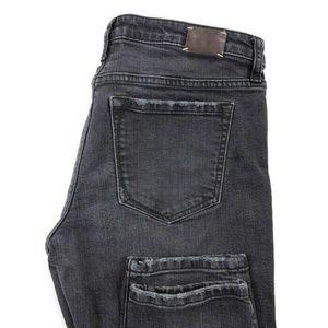 Banana Republic Womens 30 Gray Skinny Stretch Jean